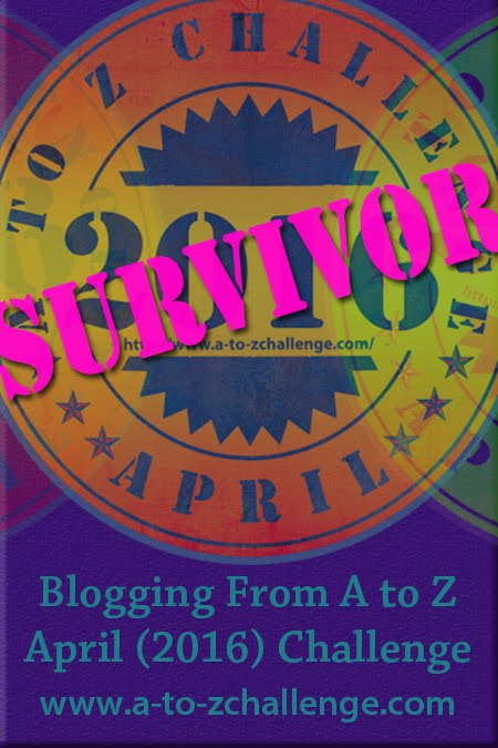 Blogging A-Z Survivor
